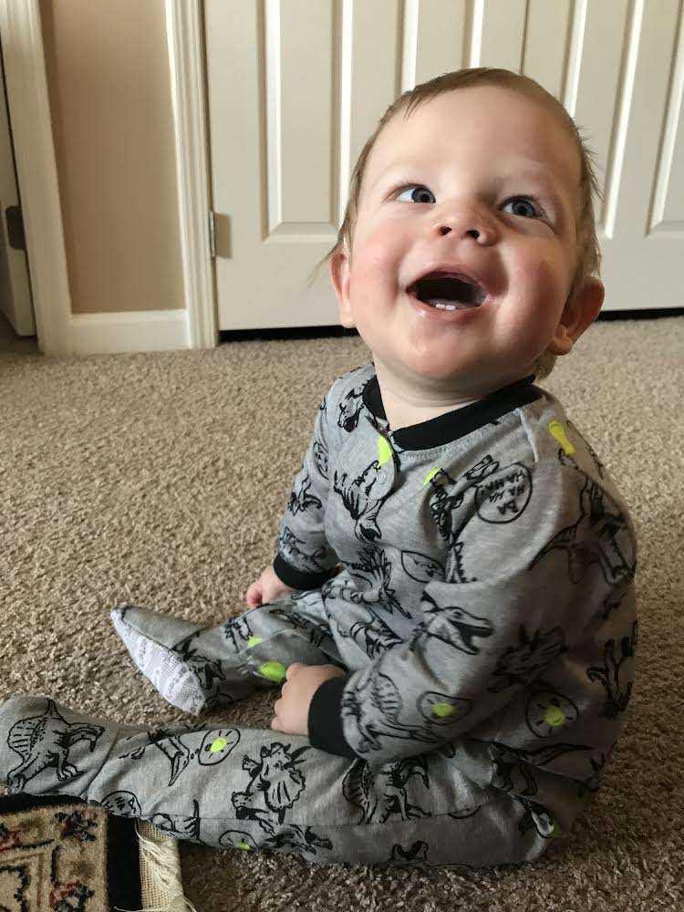 Wesley's First Teeth