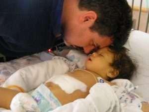 2015 Year End Savannah Anselmo infant after transplant